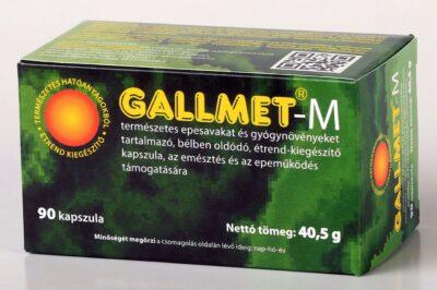 GALLMET-M/90 db epesav és gyógynövény kapszula